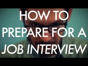 How to prepare for that upcoming job interview