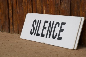 Mastering the Art of remaining Silent because Silence is Golden!