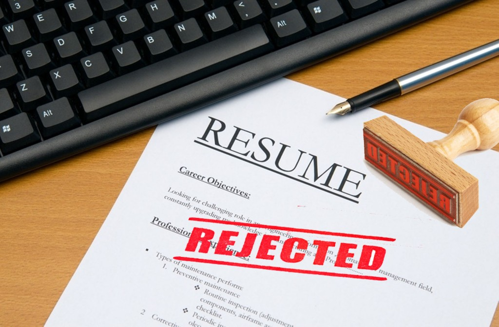 facing interview rejection